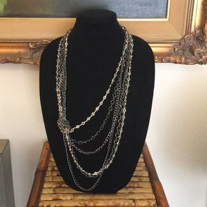 "Chico's Beautiful 27"" inch statement Necklace"